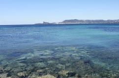 Paisagem do mar e La Ciotat, França Imagens de Stock Royalty Free