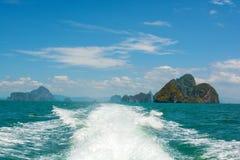 Paisagem do mar em Tailândia Fotografia de Stock Royalty Free