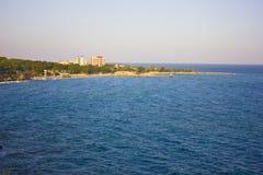 Paisagem do mar Mediterrâneo em Antalya Turquia Foto de Stock