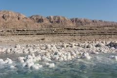 Paisagem do Mar Morto fotografia de stock royalty free