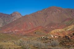Paisagem do mauntain de Maroko, Foto de Stock