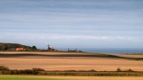 Paisagem do moinho de vento. Imagens de Stock Royalty Free