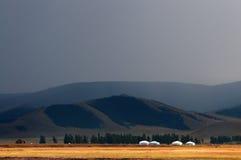 Paisagem do Mongolian Foto de Stock