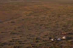 Paisagem do Mongolian fotografia de stock