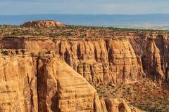 Paisagem do monumento nacional de Colorado Fotografia de Stock