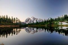 Paisagem do Mt Sukshan Fotos de Stock Royalty Free