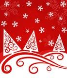 Paisagem do Natal Fotografia de Stock