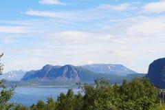 Paisagem do norte de Noruega Imagem de Stock Royalty Free