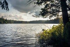 Paisagem do norte do lago imagem de stock royalty free
