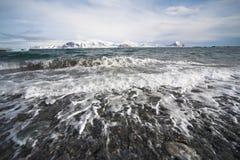 Paisagem do oceano ártico Fotos de Stock