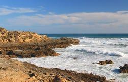 Paisagem do oceano, península de Mornington Fotografia de Stock