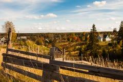 Paisagem do outono Fotografia de Stock Royalty Free