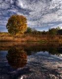 Paisagem do outono Fotografia de Stock