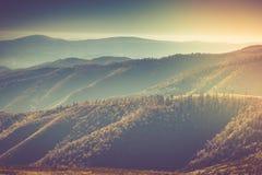 Paisagem do outono da montanha Fotografia de Stock Royalty Free