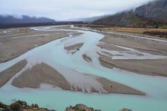 Paisagem do outono no Patagonia Argentina do EL Chalten foto de stock royalty free