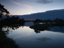 Paisagem do pântano de Marimetsa Fotografia de Stock