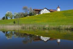 Paisagem do panorama no bavaria Fotos de Stock