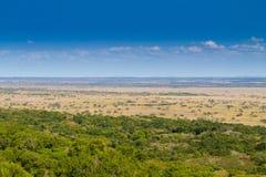 Paisagem do parque do pantanal de Isimangaliso Imagem de Stock Royalty Free