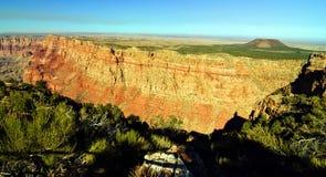 Paisagem do parque nacional de garganta grande, o Arizona, EUA Fotos de Stock Royalty Free