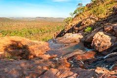 Paisagem do parque nacional de Kakadu (Território do Norte Austrália) imagens de stock