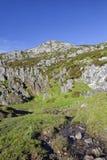 Paisagem do parque nacional de Picos de Europa imagem de stock
