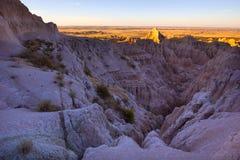 A paisagem do parque nacional do ermo foto de stock