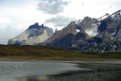 Paisagem do Patagonia, o Chile Fotos de Stock Royalty Free