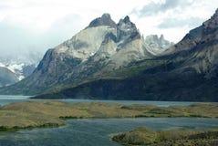 Paisagem do Patagonia, o Chile Imagens de Stock Royalty Free