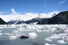 Paisagem do Patagonia, sul de Argentina Fotografia de Stock