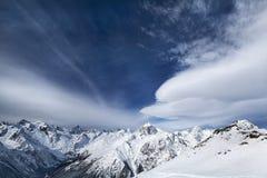 Paisagem do pico de montanha Fotografia de Stock Royalty Free
