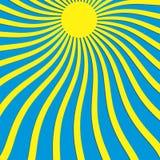 Paisagem do por do sol Imagens de Stock