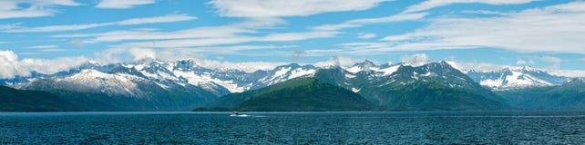 Paisagem do príncipe William Sound de Alaska foto de stock