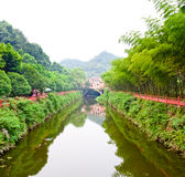 Paisagem do rio Fotografia de Stock Royalty Free