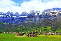 Paisagem do St Gallen Switzerland fotografia de stock royalty free