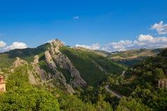 Paisagem do sul de Italia Imagens de Stock Royalty Free