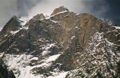 Paisagem do vale branco - Bucegi Fotografia de Stock Royalty Free