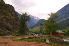 Paisagem do vale de Betab em Pahalgam-1 Imagem de Stock