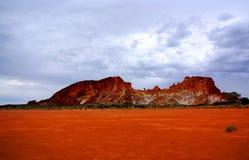 Paisagem do vale do arco-íris Fotos de Stock