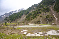Paisagem do vale em Naran Kaghan, Paquistão Foto de Stock Royalty Free