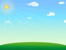 Paisagem do verão ilustração do vetor