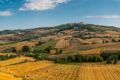 Paisagem do verão com o montanhês em Itália Foto de Stock Royalty Free