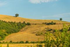Paisagem do verão com o montanhês em Itália Imagens de Stock