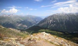 Paisagem do verão da paisagem da montanha Fotos de Stock Royalty Free