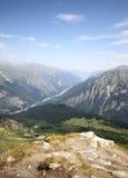 Paisagem do verão da paisagem da montanha Fotografia de Stock Royalty Free