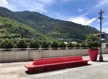 Paisagem do verão nos Andorra-la-velinos imagem de stock