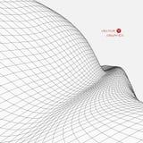 paisagem do vetor 3D Foto de Stock Royalty Free