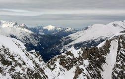 Paisagem dos alpes Foto de Stock