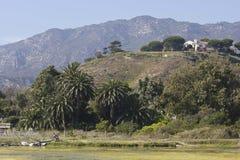 Paisagem dos montes de Malibu no verão Foto de Stock Royalty Free
