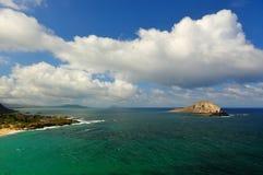 Paisagem dramática de Oahu, Havaí Foto de Stock