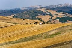 Paisagem em Basilicata (Italy) Fotografia de Stock